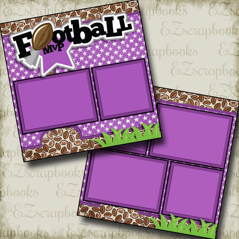Football MVP Purple- 3256