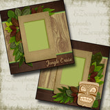 Jungle Cruise - 2895 - EZscrapbooks Scrapbook Layouts Disney