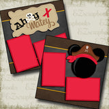 Ahoy Matey Mouse Red - 3352