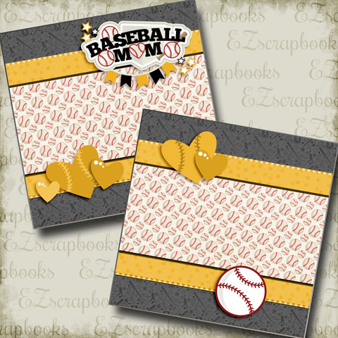 Baseball Mom Yellow NPM - 3249
