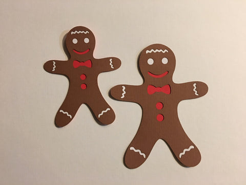 Gingerbread Men (2) - D10906 - Laser Die Cut