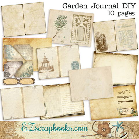 Garden Journal DIY Kit - 7008