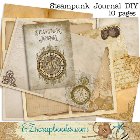 Steampunk Journal DIY Kit - 7013