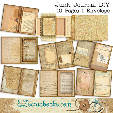 Junk Journal DIY Kit - 7011