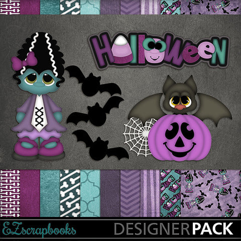 Matilda - Halloween - Digital Kit - INSTANT DOWNLOAD