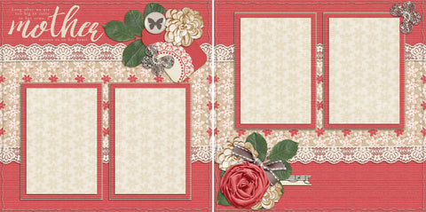Mother - 2050 - EZscrapbooks Scrapbook Layouts Family