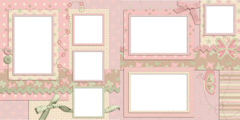My Baby Girl - Digital Scrapbook Pages - INSTANT DOWNLOAD