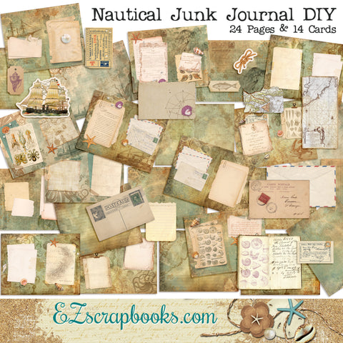 Nautical Junk Journal - 7159