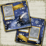 Polar Express - 5154 - EZscrapbooks Scrapbook Layouts Christmas