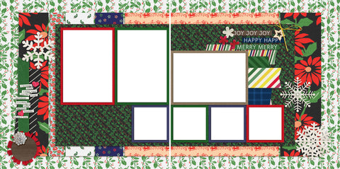 Christmas Magic - Digital Scrapbook Pages - INSTANT DOWNLOAD