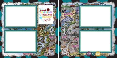 Adventure Boy - Digital Scrapbook Pages - INSTANT DOWNLOAD