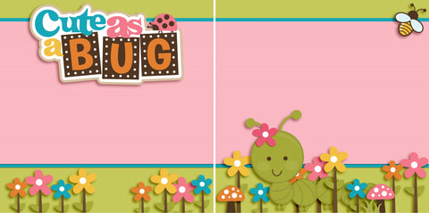 Cute as a Bug Girl NPM - 2489