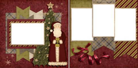 Clause - Digital Scrapbook Pages - INSTANT DOWNLOAD