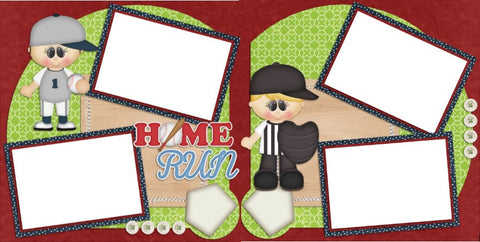 Home Run - Digital Scrapbook Pages - INSTANT DOWNLOAD