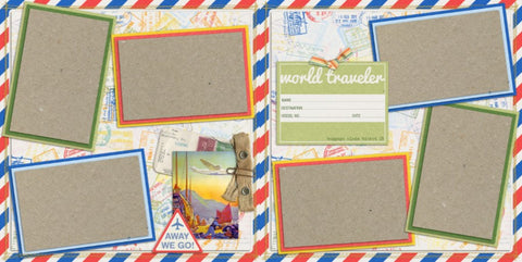 Travel - 130 - EZscrapbooks Scrapbook Layouts Vacation