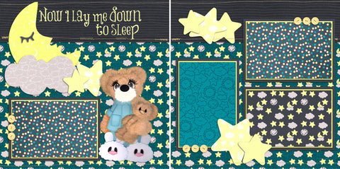 Now I Lay Me Down to Sleep - 23 - EZscrapbooks Scrapbook Layouts Baby - Toddler