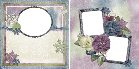 Winter Magic - Digital Scrapbook Pages - INSTANT DOWNLOAD