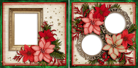 Christmas Beauty - Digital Scrapbook Pages - INSTANT DOWNLOAD