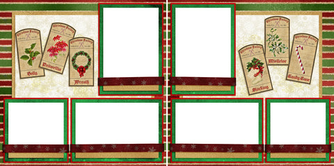 Tis the Season Tags - Digital Scrapbook Pages - INSTANT DOWNLOAD
