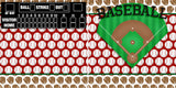 Baseball Diamond NPM - 2525 - EZscrapbooks Scrapbook Layouts Vacation