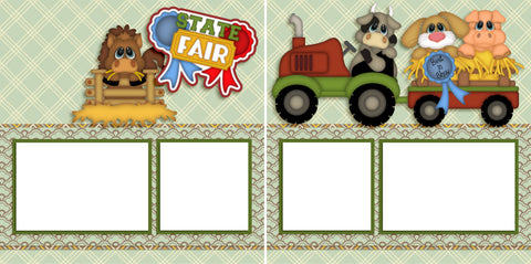 State Fair - Digital Scrapbook Pages - INSTANT DOWNLOAD