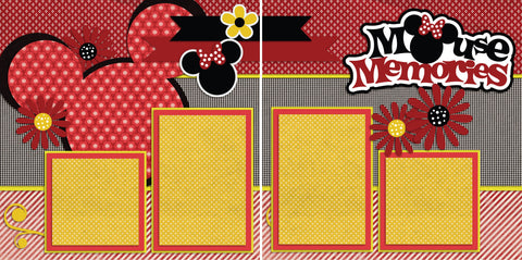 Mouse Memories - 2192 - EZscrapbooks Scrapbook Layouts Disney