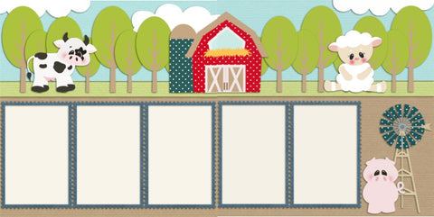 Farm Fresh - 95 - EZscrapbooks Scrapbook Layouts Farm - Garden