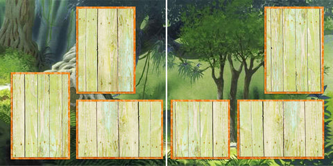 Jungle Book Inspired - 2027 - EZscrapbooks Scrapbook Layouts Disney, General No Title Layouts