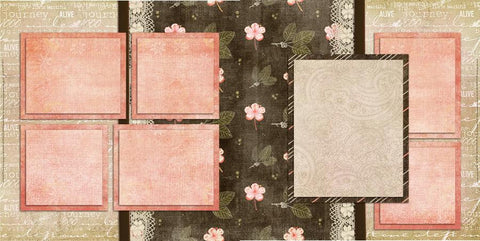 Pretty - 268 - EZscrapbooks Scrapbook Layouts Baby - Toddler, Girls, Other