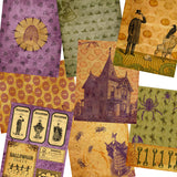 Vintage Halloween Paper Pack - 7215 - EZscrapbooks Scrapbook Layouts Halloween, Journals