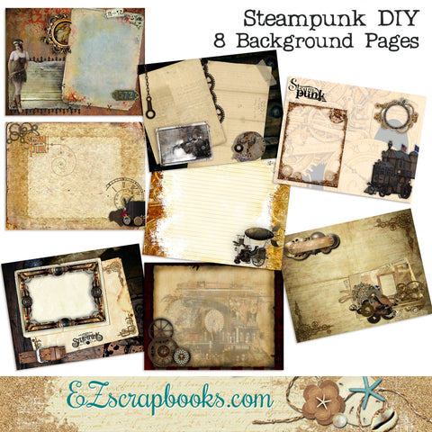 Steampunk Journal Paper Pack - 7017