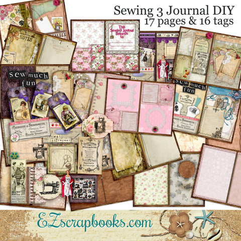 Sewing Journal Pack - 7065