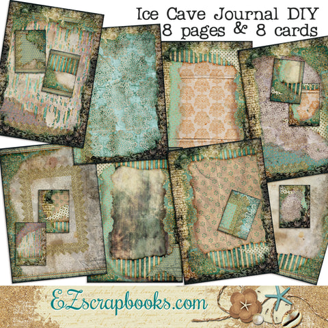 Ice Cave Journal Set - 7079