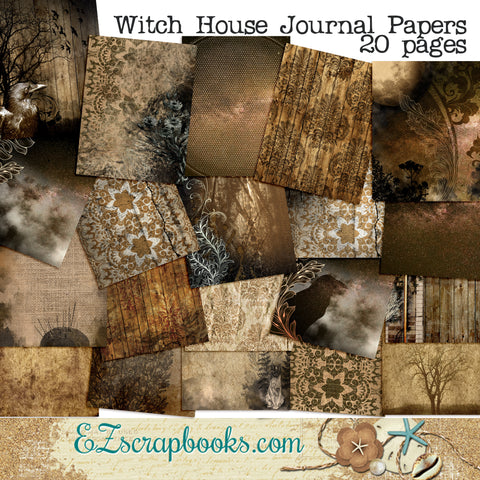 Witch's House Journal Paper Pack - 7083