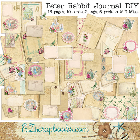 Peter Rabbit's Garden Journal - 7095