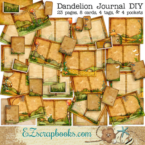 Dandelion Journal Kit - 7097