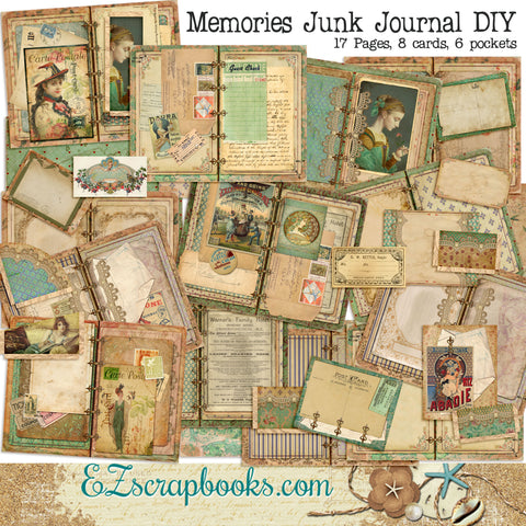 Memories Junk Journal Kit - 7107