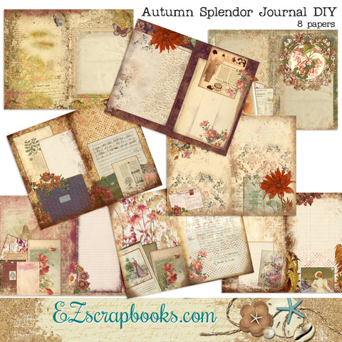 Autumn Splendor Journal Kit - 7126