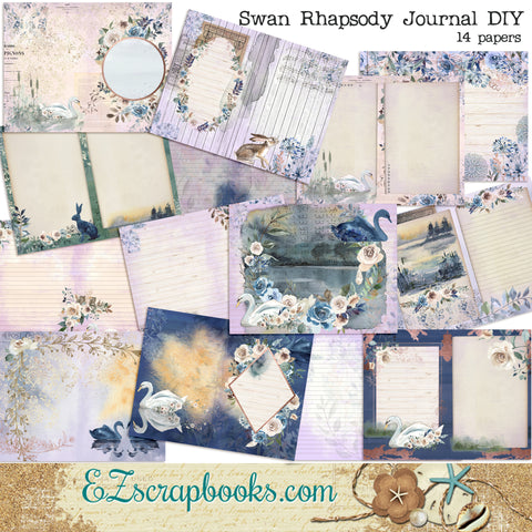 Swan Rhapsody Journal Kit - 7129