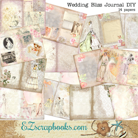 Wedding Bliss Journal Kit - 7137