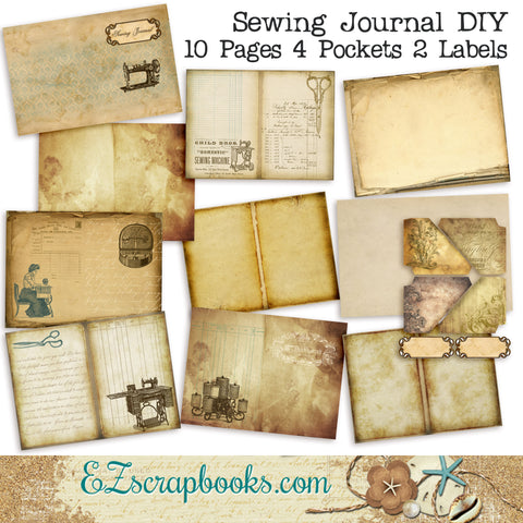 Sewing Journal DIY Kit - 7012