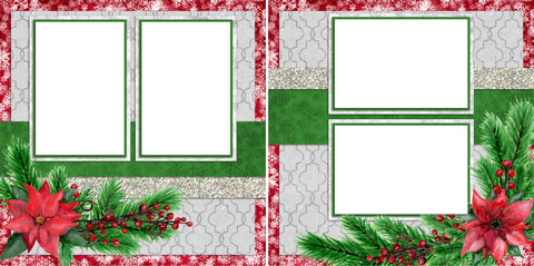 Tis' the Season - Digital Scrapbook Pages - INSTANT DOWNLOAD