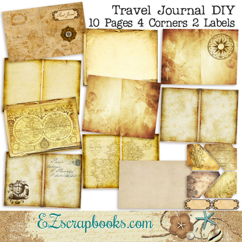 Travel Journal DIY Kit - 7015