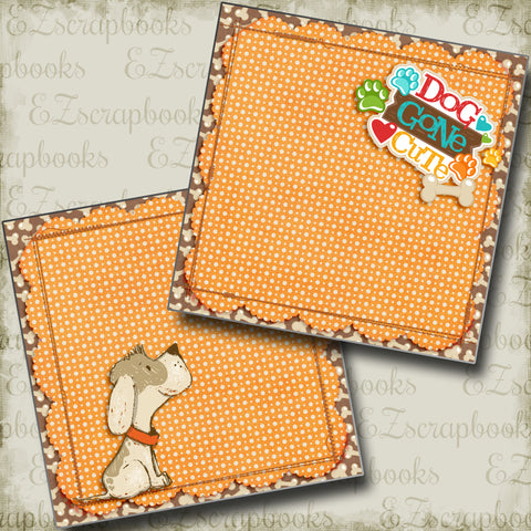 Dog Gone Cute Red NPM - 4019 - EZscrapbooks Scrapbook Layouts dogs, Pets