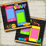 Oh Snap - 3740 - EZscrapbooks Scrapbook Layouts Kids, Other