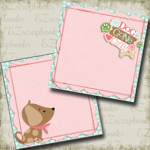 Dog Gone Cute Pink NPM - 4017