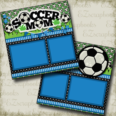 Soccer Mom Blue - 3308