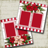 Christmas Snowflakes - 3572 - EZscrapbooks Scrapbook Layouts Christmas