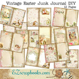 Vintage Easter Junk Journal - 7169