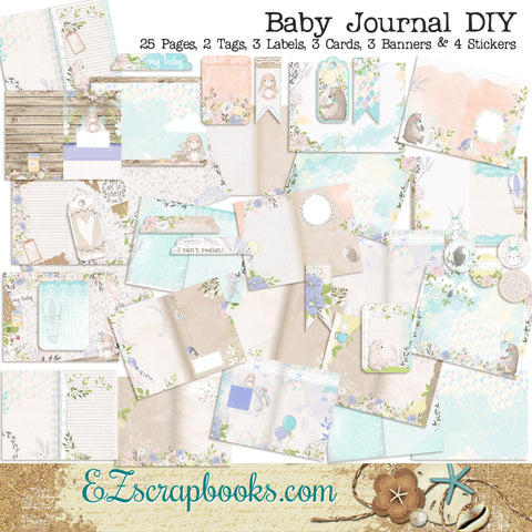 Baby Journal Kit - 7110